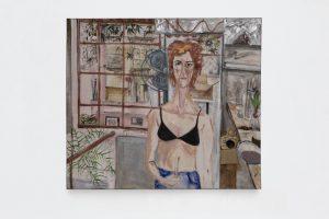 Marcia Schvartz, <I>La piedra granate</I>, 1998 </br> oil on canvas</br> 140 x 160 cm / 55.1 x 63 in