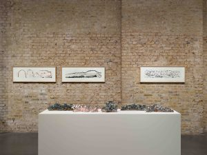 <I>Finding a Way</i>, 2021 </br> installation view, Whitechapel Gallery, London